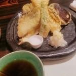 徳島魚一番 新 - 天ぷら盛り合わせ