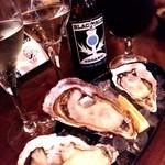 Oyster Bar MABUI - 生牡蠣(小長井、九十九里島、相生)