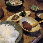 蛙の子 - 鴨鍋定食¥1100-