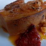 トラットリア ダ カンダ - 皮付き豚バラ肉の煮込みとンドゥイヤ