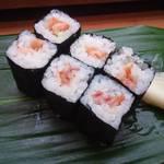 三島屋寿司 - 赤貝ひも巻