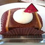 上島珈琲店 - 極濃チョコレートケーキ☆420円♪