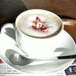 上島珈琲店 - 苺ミルクコーヒー☆500円♪