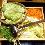 25473862 - 夕採れレタスの野菜盛り