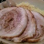 麺処 銀笹 - 炙りチャーシュー