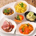 南インドの味 カレーリーフ - コース前菜(1名様)