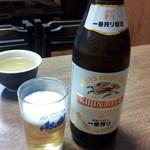 25479225 - とりあえずビールを注文しました。