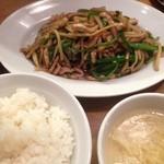 万豚記 - 青椒肉絲定食(^o^)/