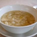 満楼日園 - スープ。