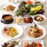 満月 - オモニがつくる、本場韓国の『宮廷料理 Aコース』