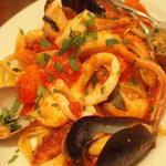2548772 - 魚介のトマトソースパスタ