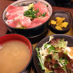 25480401 - 漬け丼定食 15食限定 850円