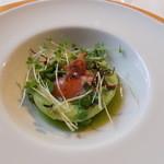 ラ・ターブル・ド・トリウミ - 前菜①グリーンピースのムース