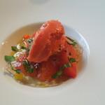 ラ・ターブル・ド・トリウミ - 前菜②トマトの3段活用