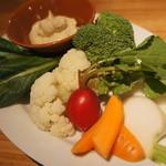 SoleiL - 東京野菜のアンチョビマヨネーズ