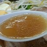 二代目おかだラーメン - スープ
