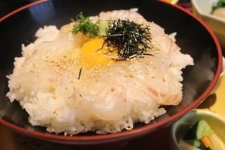 鮮魚旬菜 吉 - 鯛めし♪