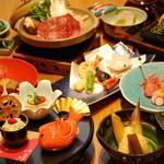 山乃薫 - 料理写真:3500円鯛茶コース