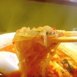辛麺屋 桝元 - こんにゃく麺