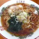 友信食堂 - ラーメン ¥500