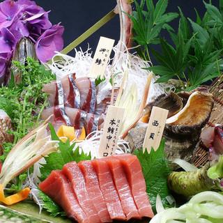 早朝空輸で届く瀬戸内鮮魚
