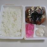 とよ唐亭 - 料理写真:チキン照りマヨ弁当360円。
