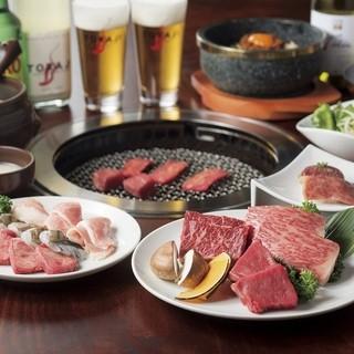 名物盛り合わせ☆こだわり抜いた鮮度抜群のお肉をご賞味ください