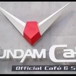 25491018 - 『ガンダムカフェ』入口のロゴ~!!\(◎o◎)/!!