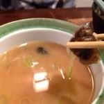 銀座江戸家 - たにし汁