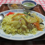 北京飯店 - 料理写真:あんかけチャーハン