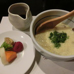 和食すがわら - フグ雑炊と漬物