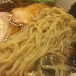 一番いちばん - 手打ち麺(2014年2月)