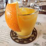 SAWAI COFFEE&TEA - 2014.3 オレンジジュース