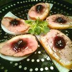 バンブーカフェ - スモーク鴨のブルーベリーソース