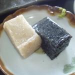 25495967 - あっさりした胡麻豆腐