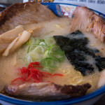 ら~めん蔵 - 1-1)ホホ肉(網走産・限定)チャーシュー麺(しお)