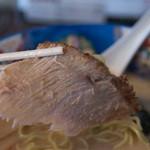 ら~めん蔵 - 1-4)ホホ肉(網走産・限定)チャーシュー麺(しお)のチャーシュー