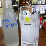 愛知屋小林商店 - レモンサワー(割る前)