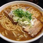 麺屋 とがし - 2014/3/26らーめん白700円大盛&こってりめ「限定の麺」