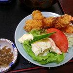割烹山王 - 料理写真:エビフライ定食