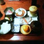 とり福 - おまかせ定食1200円
