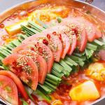木村屋本店桜丘町 - 料理写真:生果実 「トマトもつ鍋」