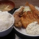 南蛮食堂 - チキン南蛮ミックス定食