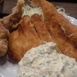 南蛮食堂 - チキン南蛮にから揚げに海老フライ