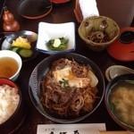 大河原 - すき焼き丼