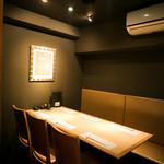 千代芭 - プライベートなひとときが過ごせる、ゆったりとした個室