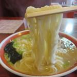 梅蘭芳 - 麺はわりと柔らかめ