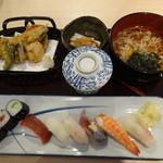 25510781 - 寿司天ぷら定食1,300円