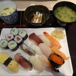 25510789 - 満腹にぎり寿司定食1,300円