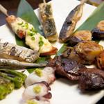 食泉 天の月 - 料理写真:魚串10本盛り合わせ。当店一押しです!